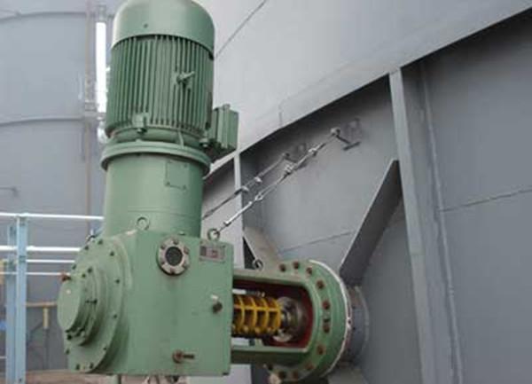 Flue gas desulfurization agitator